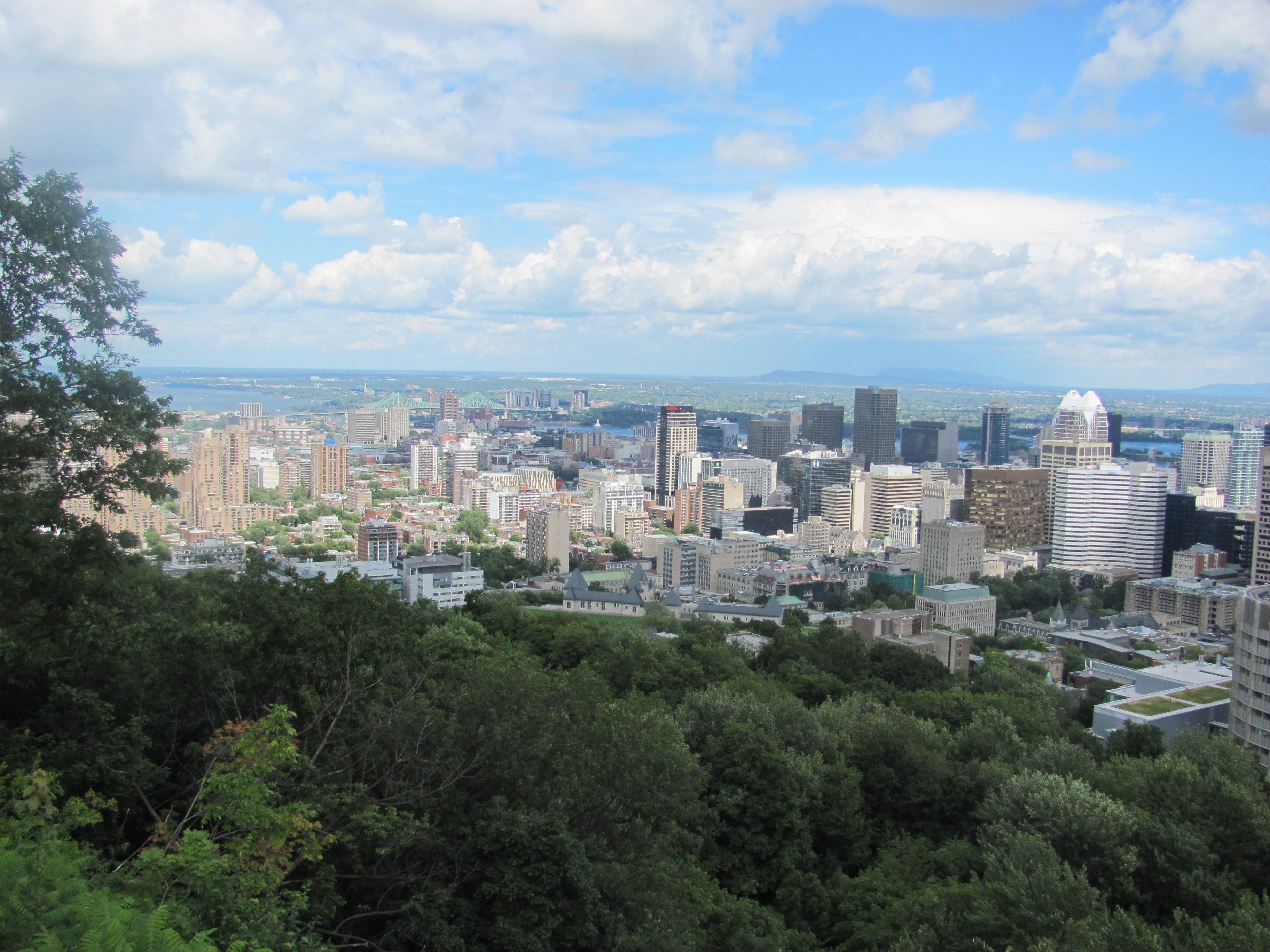 Montreal from Mount Royal