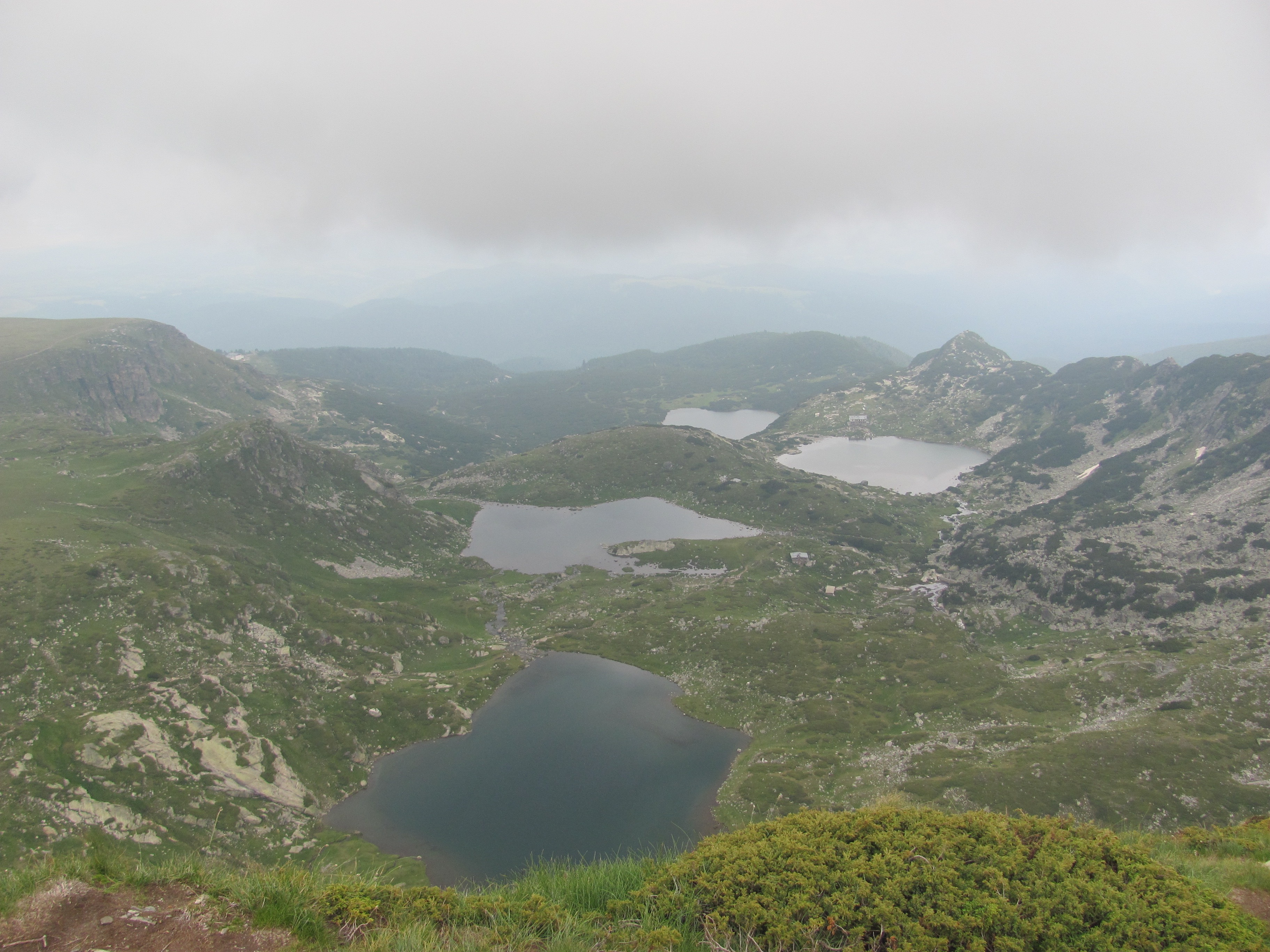 Four out of Seven Rila Lakes